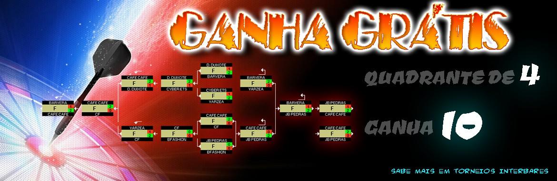 Quadrante de 4 Ganha 10! ( TORNEIOS INTERBARES )