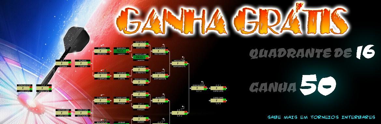 Quadrante de 16 Ganha 50! ( TORNEIO INTERBARES )