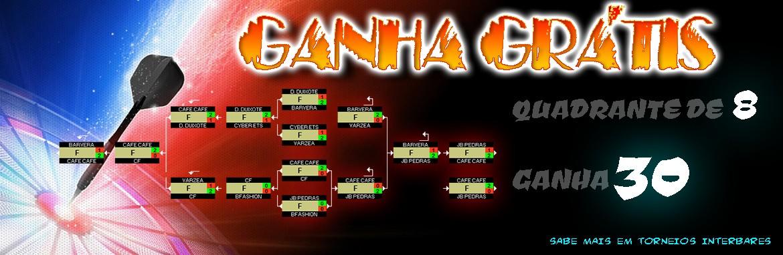 Quadrante de 8 Ganha 30! ( TORNEIO INTERBARES )